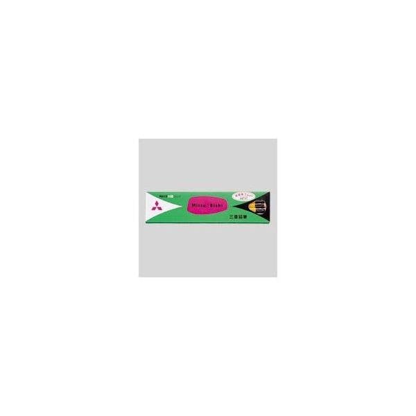 (まとめ) 三菱鉛筆 六角消しゴム付鉛筆 K9852HB 12本入 〔×3セット〕〔沖縄離島発送不可〕