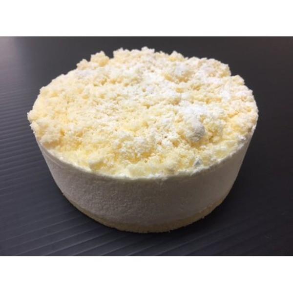 ふんわりレアチーズケーキ/業務用ケーキ 〔4号〕 直径約12cm 日本製 〔スイーツ デザート お取り寄せ〕〔代引不可〕