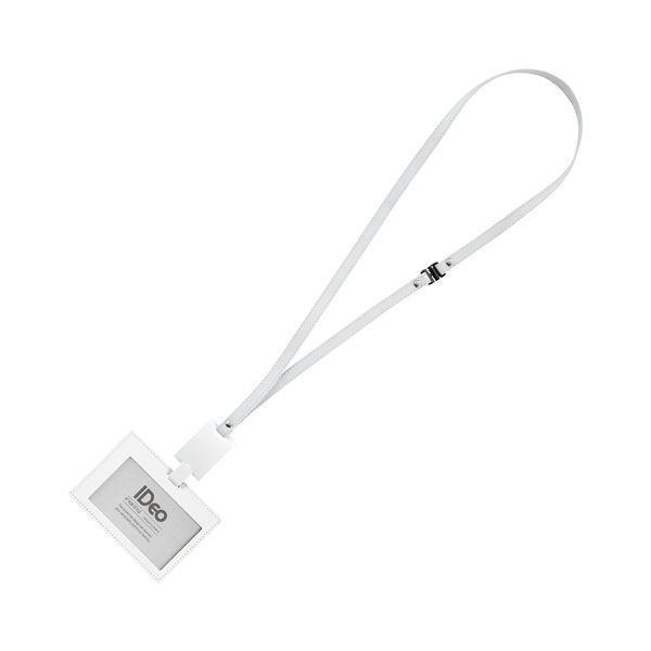コクヨ ネームカードホルダー(IDeoHUBSTYLE)名刺・IDカード用 ヨコ型 白 NM-RK195W 1個