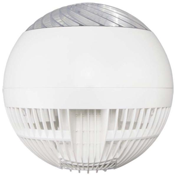 サーキュレーター アイリスオーヤマ おしゃれ 扇風機 左右首振り サーキュレーターアイ 18畳 ボール型 ホワイト 1年保証 リモコン付き 静音 PCF-SC15|unidy-y|18