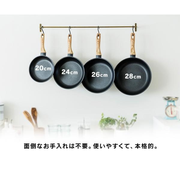 スキレット IH フライパン 28cm スキレットコートパン ブラック SKL-28IH アイリスオーヤマ unidy-y 05