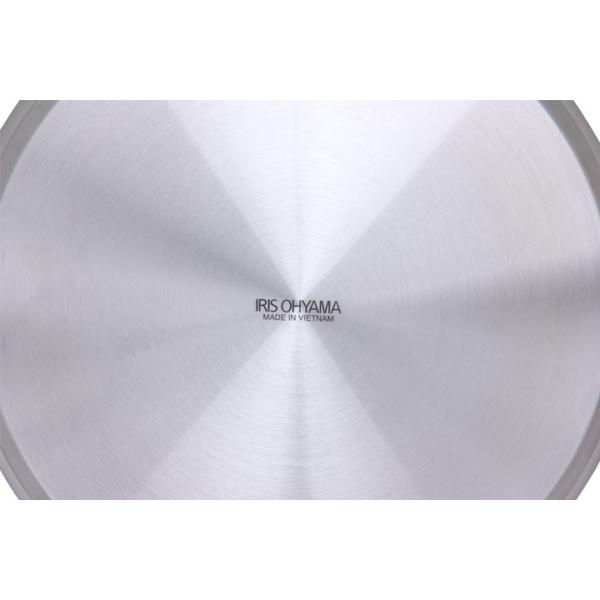 フライパン ステンレス StyleChef ステンレスフライパン IH対応 SF-24NC 24cm アイリスオーヤマ(在庫処分)|unidy-y|03