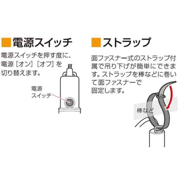 LEDワークライト防滴型 60形相当 ILW-83GB2 アイリスオーヤマ|unidy-y|03