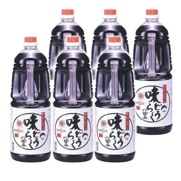 (6本)万能つゆ 味どうらくの里 1.8L  東北醤油 (D)