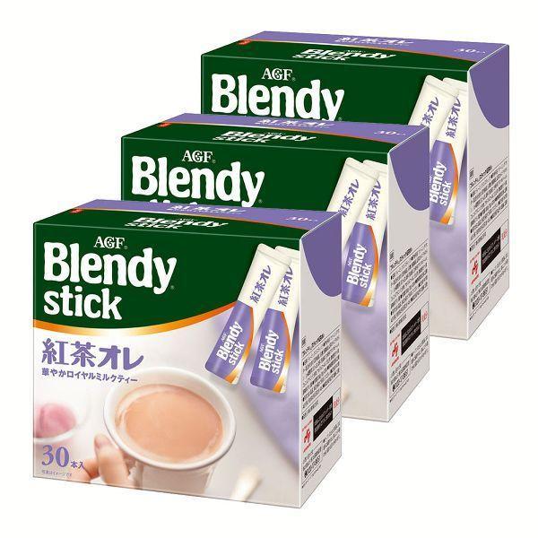 3個セット 「ブレンディ」スティック 紅茶オレ 30本(スティック)(個包装)   AGF (D)