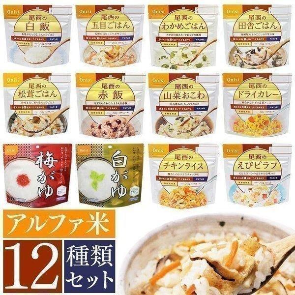 非常食 非常食セット アルファ米 5年保存 おいしい 米 保存食 防災食 ご飯 ごはん 常温 スプーン付き セット 12種 5年 賞味期限 長期保存 避難グッズ