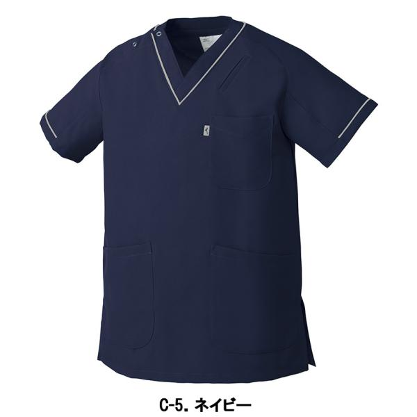 MIZUNO ミズノ 医療 スクラブ 白衣 看護 介護 男女兼用 半袖 UNITE チトセ MZ-0092|uniform-japan|06