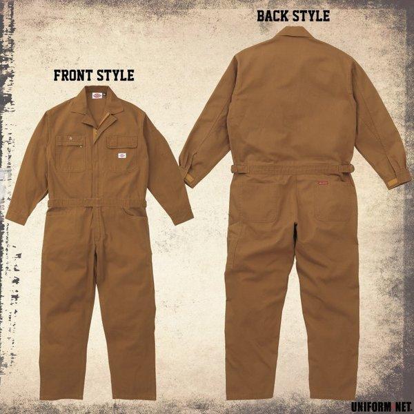 【送料無料】ディッキーズ つなぎ 3色 21-702 男性用 綿100%  ディッキーズ S〜5L|uniform-net-shop|02