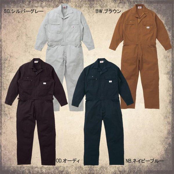 【送料無料】ディッキーズ つなぎ 3色 21-702 男性用 綿100%  ディッキーズ S〜5L|uniform-net-shop|03