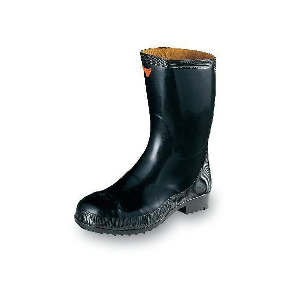 安全靴 特殊安全靴 ハードな作業に対応 安全長靴 黒 エンゼル 29cm