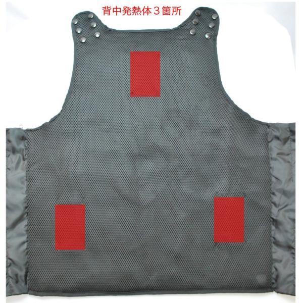 電熱ベスト/ヒーター ベスト/カイロ/USB接続/発熱ベスト/温度調整/超暖ベスト《055-chodanvest》|uniform100ka|06
