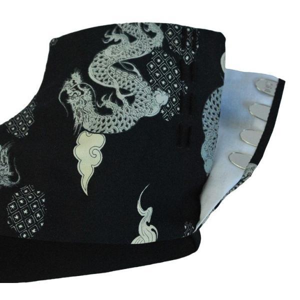 行田足袋/サムライ足袋/samurai tabi/柄足袋/七五三/お正月/成人式/女性用/男性用/子供用/黒龍/クリックポスト送料無料|uniform100ka|05