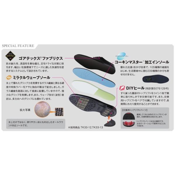 ビジネスシューズ/メンズ/本革/紳士靴/日本製/防水/ゴアテックス /通勤快足/紐靴/4E/アサヒ/ASAHI/AM31231/送料無料|uniform100ka|04