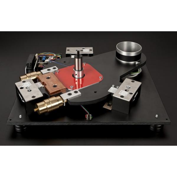 stst  アナログプレーヤー(アームレス) MOTUS II DQ メープル カーボン貼り天板