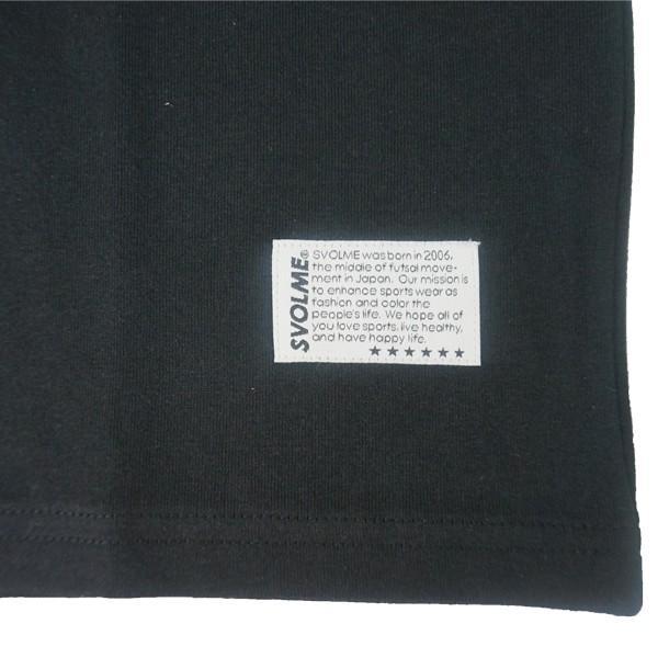 スボルメ svolme BLAST ロゴ Tシャツ 1191-08700|unionspo|03