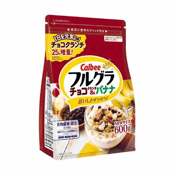カルビー フルグラ チョコクランチ&バナナ 600g ×6袋