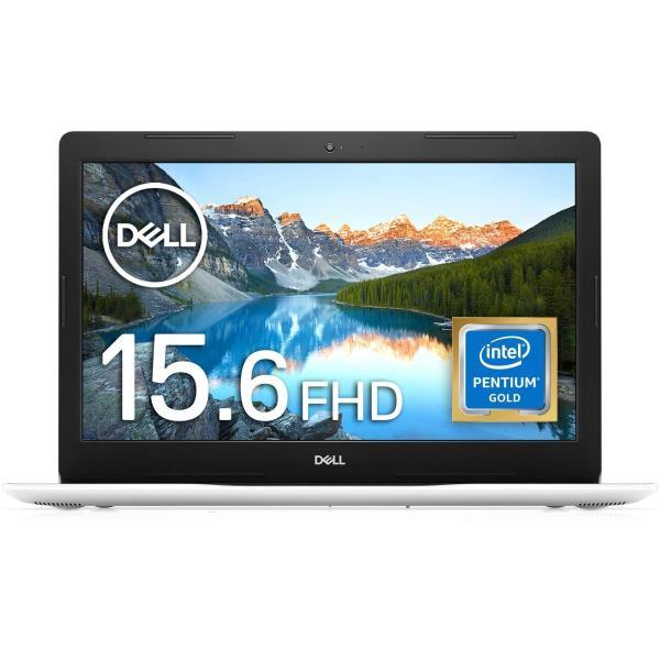 Dell ノートパソコン Inspiron 15 3583 Pentium Gold ホワイト 20Q41W/Win10S/15.6FHD/4GB/128GB SSD universe-store