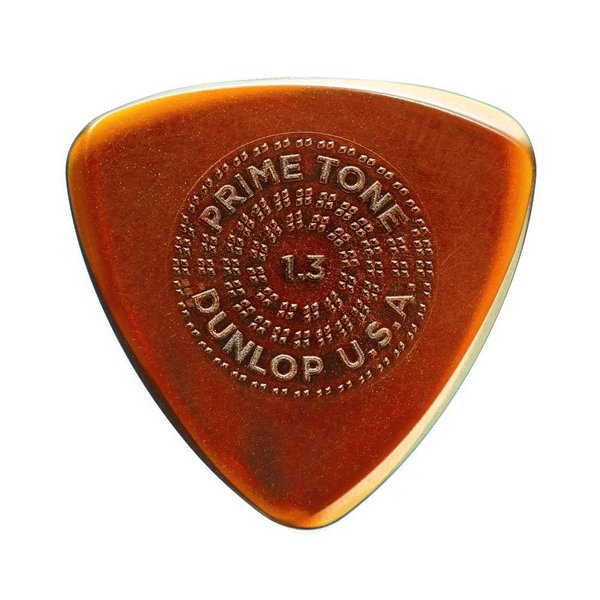 JIM DUNLOP Primetone Sculpted Plectra Small Triangle with Grip 516P 1.3mm ピック×3枚入り