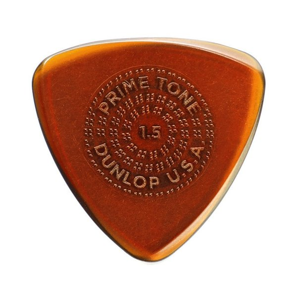 Dunlop Primetone Sculpted Plectra Small Triangle with Grip (516P) ゲージ:1.5mm ピック 3枚入り