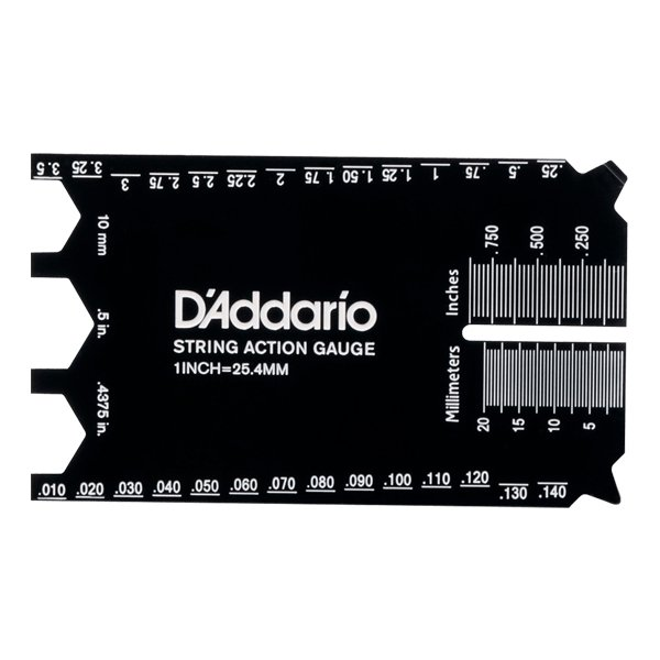D'Addarioダダリオ弦高計測ツールStringHeightGaugePW-SHG-01(インチ/センチ表記) 国内正規品