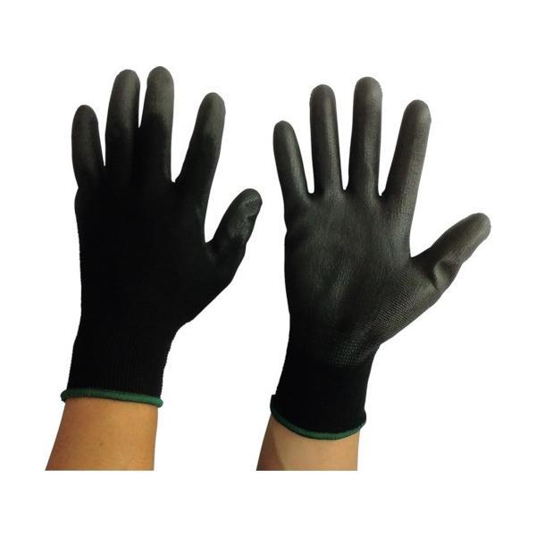 (すべり止め背抜き手袋)富士手袋 ウレタンメガ黒10P 5327-M