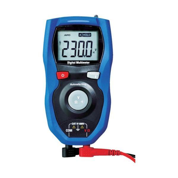 (マルチメーター)カスタム 防塵防水デジタルマルチメータ CDM-2500WP