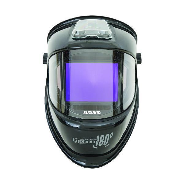 スター電器 液晶式自動遮光溶接面アイボーグ180° EB-300PW