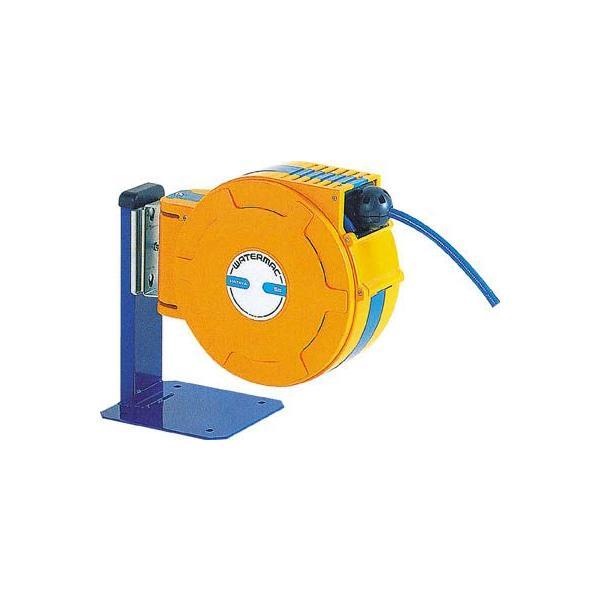 (ホースリール)ハタヤリミテッド 自動巻取ホースリール ウォーターマック 水用15m  WXP-154