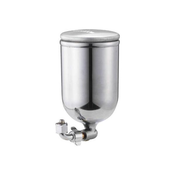 (スプレーガン)トラスコ 塗料カップ 吸上式用 容量0.4L L型ジョイントタイプ  TGC-04-2L
