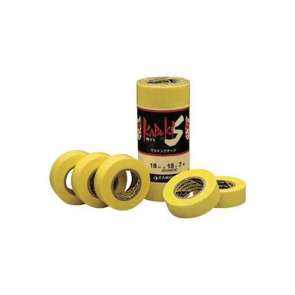 (マスキングテープ 養生テープ)カモ井 マスキングテープ車両塗装用(4巻入り) KABUKISJAN-30
