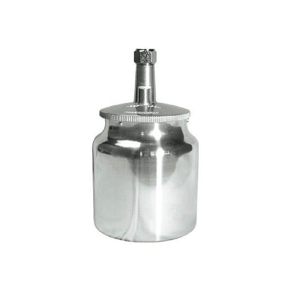 (スプレーガン)デビルビス 吸上式塗料カップアルミ製(容量700CC)G3/8  KR-470-1