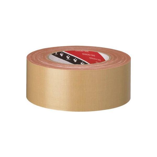 (梱包 テープ)寺岡製作所 TERAOKA オリーブテープ NO.141 75mmX25M  141 75X25