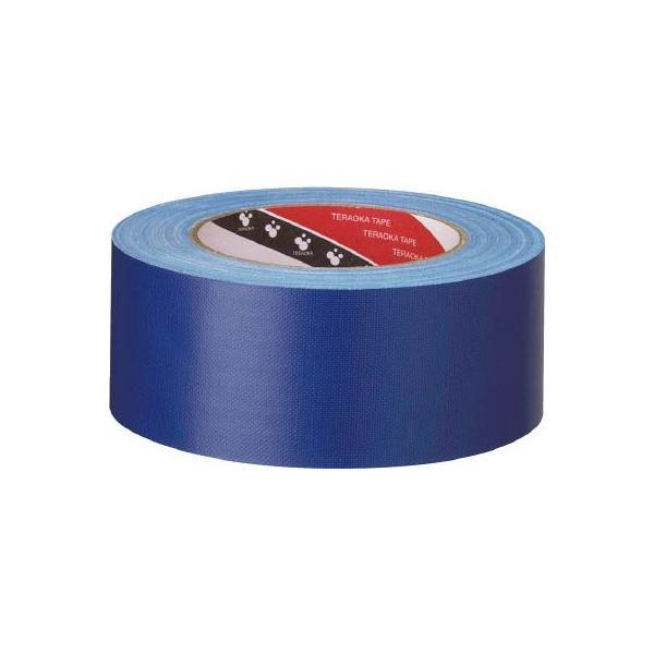 (梱包 テープ)寺岡製作所 TERAOKA カラーオリーブテープ NO.145 シルバー 50mmX25M  145 SV-50X25