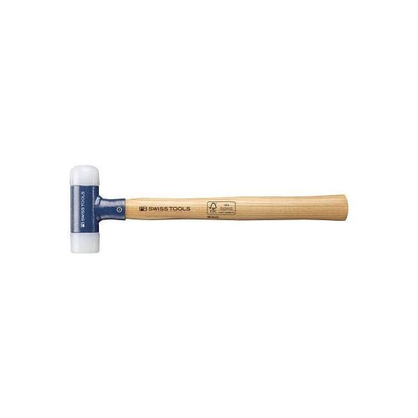 (ショックレスハンマー 金槌 大工道具)PBスイスツールズ 無反動ハンマー50mm  300-6