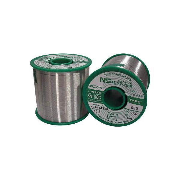 (はんだ)スペリア 鉛フリ−ヤニ入り半田1.6mm  SN100C-030-16