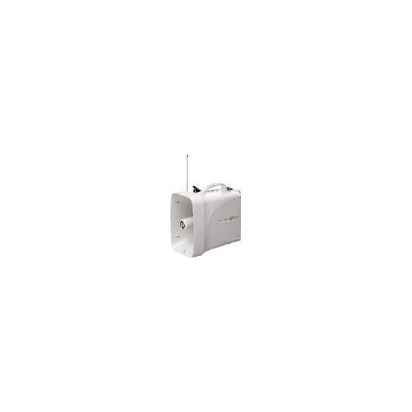 送料無料 (拡声器 メガホン)ユニペックス 30W 防滴スーパーワイヤレスメガホン レインボイサー  TWB-300