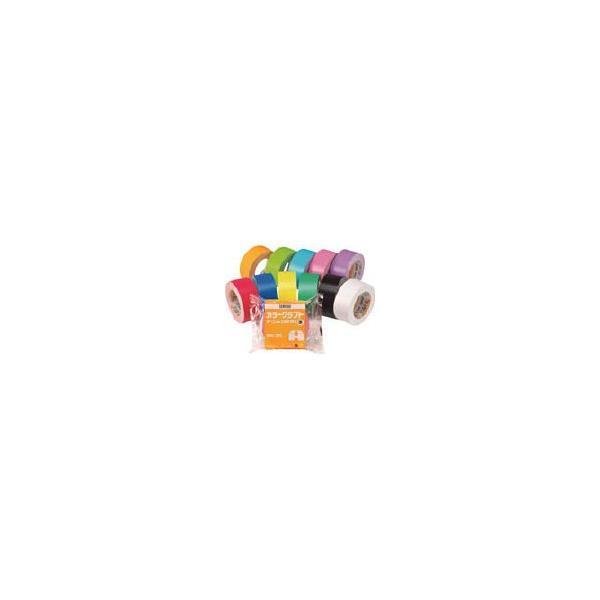 (梱包 テープ)積水 カラークラフトテープNo.500WC 黄 K50WY13