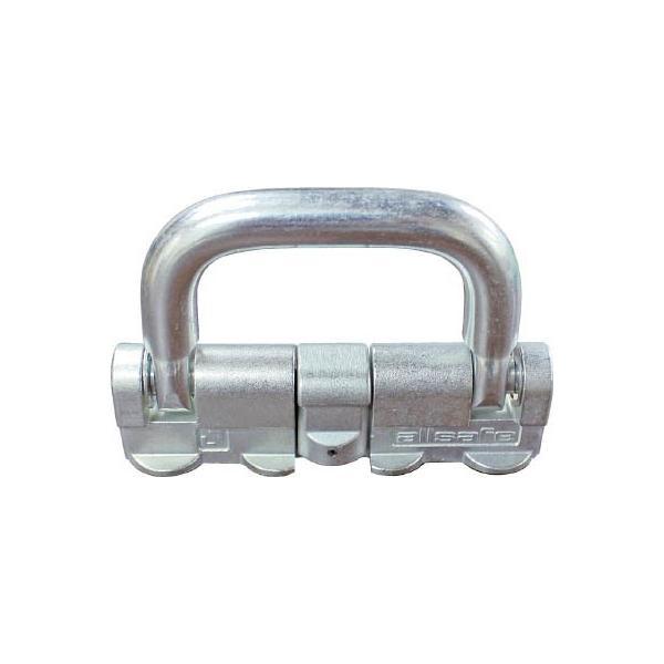 (荷締機)allsafe エアラインレール用端末金具クワトロスタッドフィッティング(1個)QS