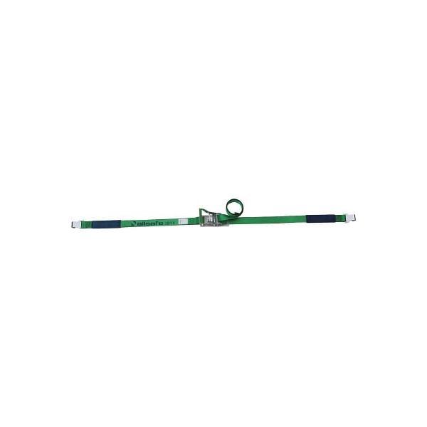 (荷締機)allsafe ベルト荷締機 ラチェット式フラットフック仕様(重荷重)R5FH15