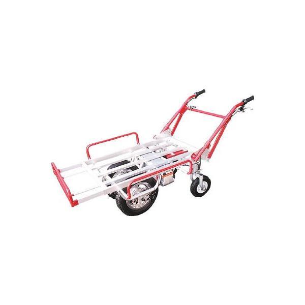 直送品 代引不可 (電動台車)アルミス 電動式手押車 電動猫吉 四輪タイプ  DN-4