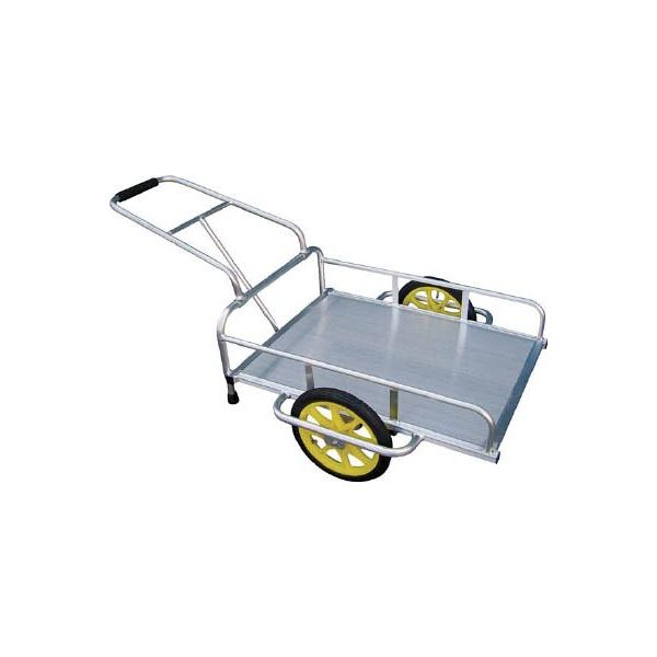 直送品 代引不可 (一輪車 リヤカー)アルミス アルミリヤカー 14FT