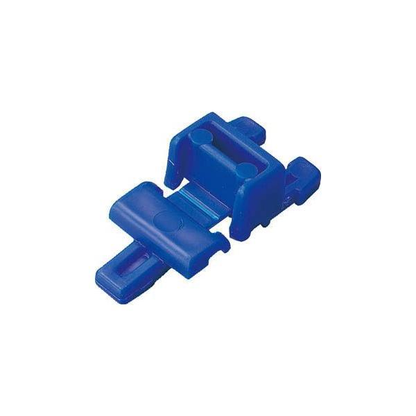 (折りたたみコンテナボックス 収納 おしゃれ)トラスコ 2枚フタ用ジョイント CR−S502F ダークブルー用  CR-J