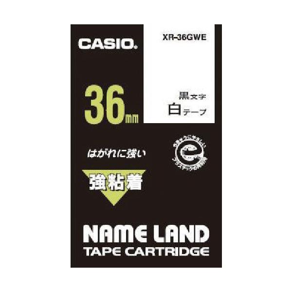 (ラベル用品)カシオ ネームランド用強粘着テープ36mm XR36GWE