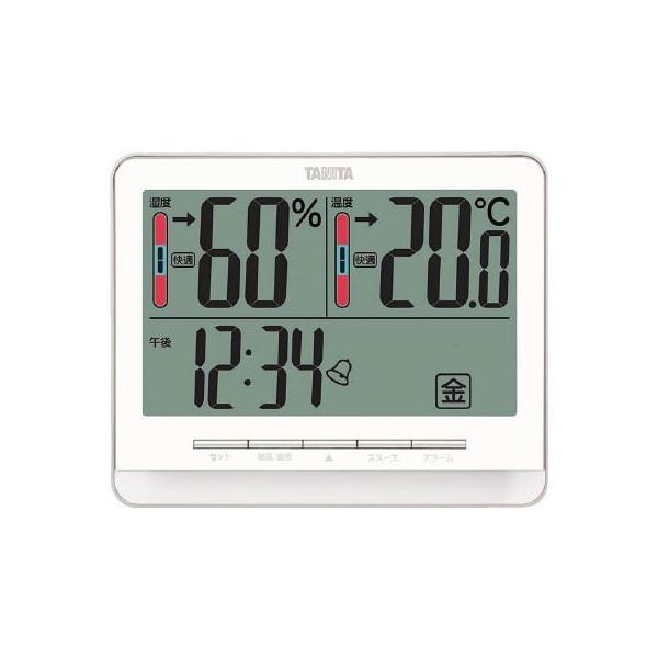 (温度計・湿度計)TANITA デジタル温湿度計 TT‐538‐BK  TT-538-BK
