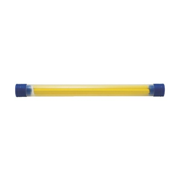(建築用筆記具)シンワ 工事用 ノック式クレヨン用 替芯4.0mm 黄 4本入 78460