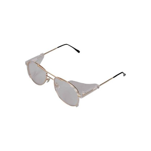(二眼型保護メガネ)TRUSCO 二眼型セーフティグラス メタルフレームタイプ  MS-0106A