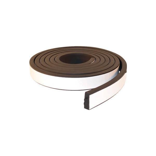 (気密防水テープ)TRUSCO EPDM高機能スキマテープ シャッター用 30X10mmX3.  TSKM-3531