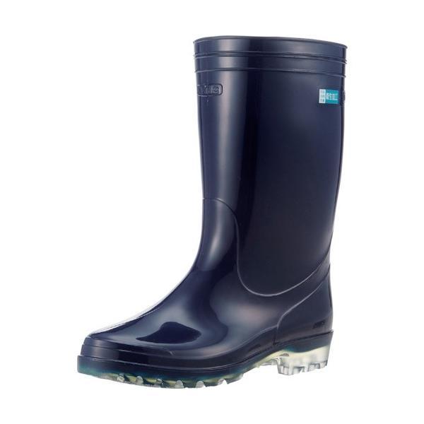 (長靴)Achilles ワークマスターOSM620 透明底 ブルートウメイ23.5cm OSM6200BKCL23.5