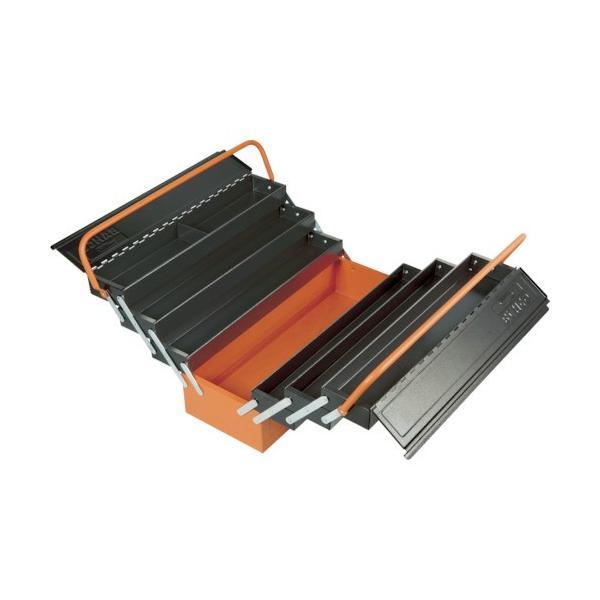 (スチール製工具箱)バーコ 7トレー付きメタルボックス 1497MBF750