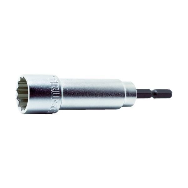 (ソケットビット)TRUSCO 電動ドリル用12角ソケット 19mm 高耐久タイプ TEF19WH